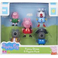 Character Peppa Pig Fancy Dress 5 Figure Pack
