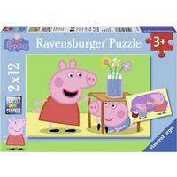 Ravensburger Peppa Pig 2x12 Pieces