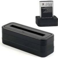 Batteri Laddare - Samsung Galaxy S4 Mini I9190, I9192, I9195 - Svart