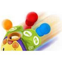 Bright Starts Count n Roll Buggie Toy, Multifärg, Plast, Djur, 0,5 År, 3 År, Pojke/flicka