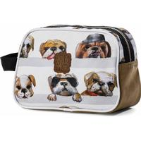 Pick & Pack Dogs Toiletry Bag - Beige (pp16226-30)