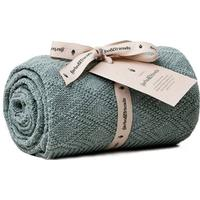 Garbo&Friends Ollie Teal Blanket