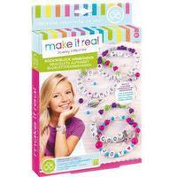 """Kreativset für Kinder, """"Rock`n Roll Armbänder"""", mit viel Zubehör, von make it real"""