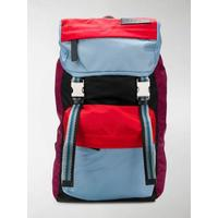 colour-blocked backpack