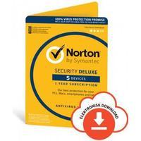 Norton Security DELUXE - 5 enheter / 1 år + 6 månader