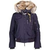 Parajumpers Womens Navy Gobi Down Hooded Jacket