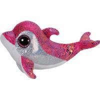 TY Beanie Boo Hug Dolphin Sparkles 15cm