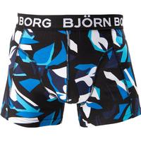 s 1p short shorts bb graphic, black, m, björn borg