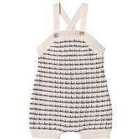 FUB Baby Overalls Ecru/Navy 92 cm (1,5-2 år)