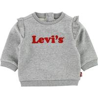 Levis Sweatshirt - Gråmeleret m. Flæser - 1½ år (86) - Levis Bluse