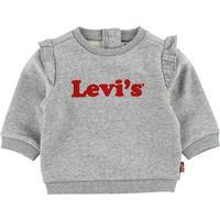 Levis Sweatshirt - Gråmeleret m. Flæser - 1 år (80) - Levis Sweatshirt