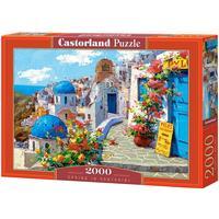 Castorland Spring in Santorini 2000 Pieces
