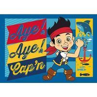 Associated Weaver Disney Jake og Piraterne Tæppe 95x133cm