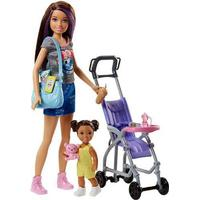 Mattel Barbie Skipper Babysitters Dukke Legesæt