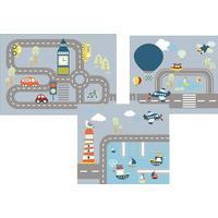 Flexa Transportation Play Curtain (3x27cm)
