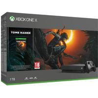 Microsoft Xbox One X 1TB - Shadow of the Tomb Raider