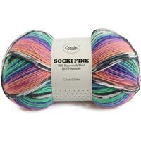 na Adlibris Socki Fine 100g Colorful Zebra B106