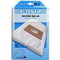 Kleenair NI5 Nilfisk GM60 støvsugerposer