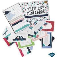 Milestone Cards / Mini kort, dansk