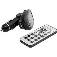 Technaxx FM-Sändare, LCD-Skärm, AUX, USB, med fjärrkontroll, 87.5-108.
