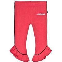 The BRAND Flounce Leggings Red Melange 92/98 cm