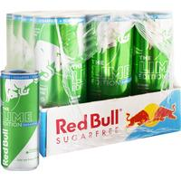 Redbull Hel Låda Energidryck Lime 12 x 250ml - 55% rabatt