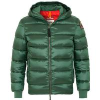Parajumpers Pharrell High Gloss Down Jacket Forest Green