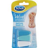 Scholl Velvet Smooth Nagel Refill Blue 3st - 3 Stk.