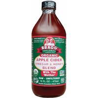 Bragg - Äppelcidervinäger med Honung 473 ml