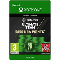 Electronic Arts Nba Live 19 - 5850 Points - Xbox One