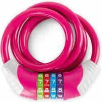 Puky  Kabellås cykel KS, pink 9431