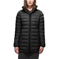 Canada Goose Brookvale Hooded Coat W Black/Graphite (Storlek XL)