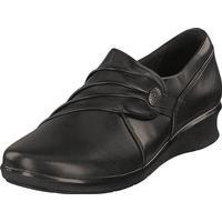 Clarks Hope Roxanne Black, Sko, Flade sko, Dress sko, Sort, Dame, 36