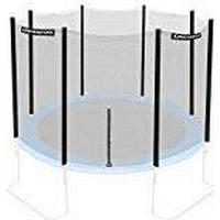 Ultrasport Safety Net for Trampoline - Black, 366cm
