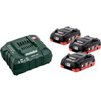 Metabo Bas-set Laddpaket 3st 4,0Ah batterier