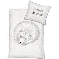 Bloomingville sengetøj baby sovende bjørn
