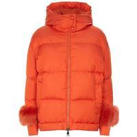 Effraie Fur Trim Down Jacket