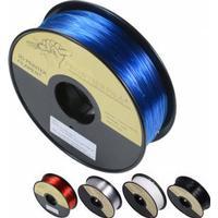 PETG 1kg svart/vit/genomskinlig 1.75mm FrontierFila filament för 3D-printer - Läpinäkyvä Punainen