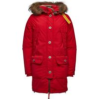 Parajumpers Inut Down Parka with Fur-Trimmed Hood