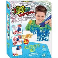 IDO3DVertical, Rita i 3D, Gul & Blå