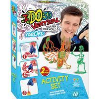 IDO3DVertical, Rita i 3D, Neonfärger