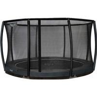 Etan garden trampoline Inground Premium Gold incl. safety net 366cm