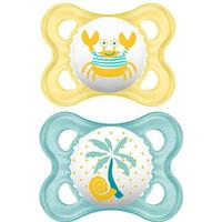 Mam Original Latex Pacifier 6m+ 2-pack