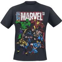 Marvel - Team Up - T-shirts - svart