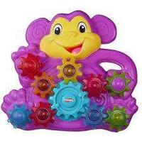 Stackn spin monkey gears, Playskool