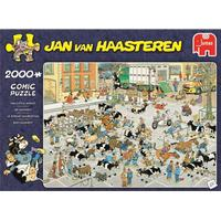 Jumbo Jan Van Haasteren The Cattle Market 2000 Pieces
