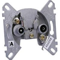 Schwaiger RDS64615 Antennedåse Planforsænket Gennemløbsdåse