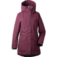 Didriksons - Frida Women's Parka Damjacka - Wine Red - 48