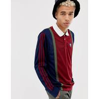 adidas Skateboarding Rugby Jersey In Red