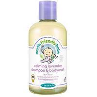 Earth Friendly baby Shampoo and Bodywash 250ml - Calming Lavender